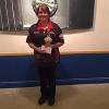 Womans Singles 1st  KIM WHALEY-HILTS
